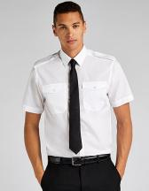 Men´s Tailored Fit Pilot Shirt Short Sleeve