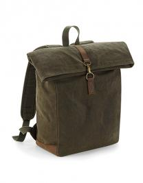 Heritage Waxed Canvas Backpack