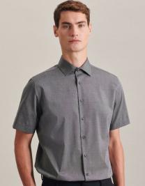 Men`s Shirt Slim Fit Shortsleeve