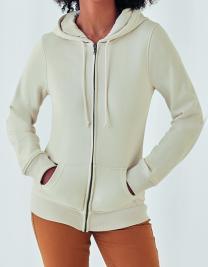 Women´s Organic Zipped Hood Jacket